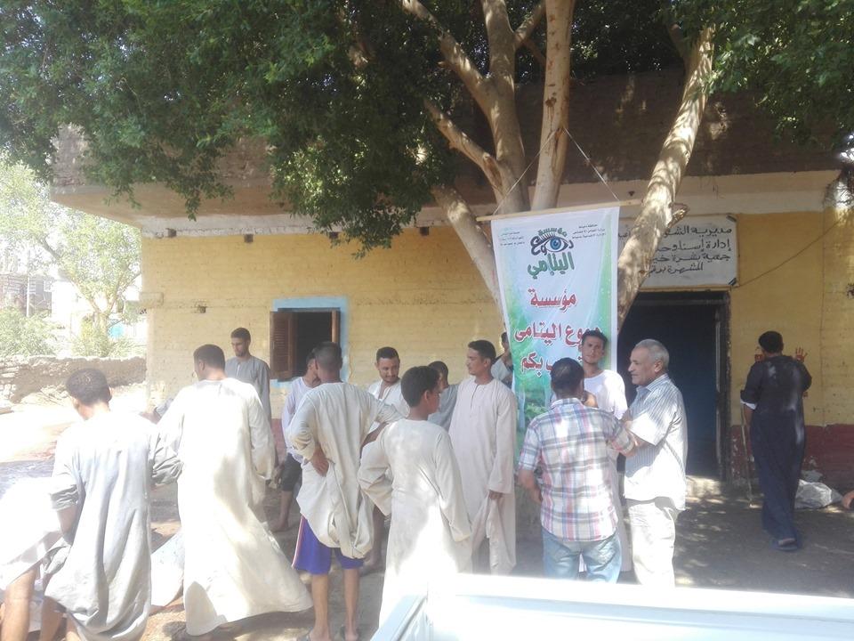 محافظات مصر تدعم الفقراء والأسر الإكثر إحتياجاً قبل العيد ضمن مبادرة حياة كريمة (14)