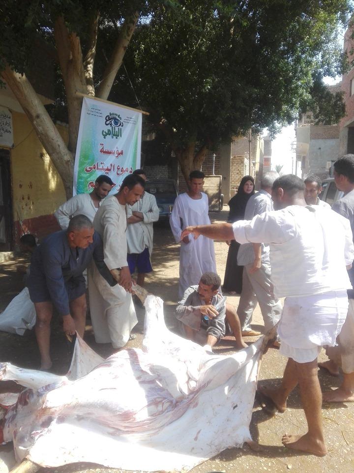 محافظات مصر تدعم الفقراء والأسر الإكثر إحتياجاً قبل العيد ضمن مبادرة حياة كريمة (12)