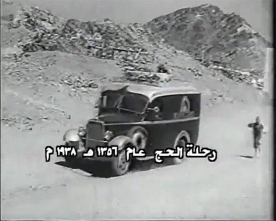 مشاهد نادرة للحج زمان بالصور 39588-السيارة-فى-طريقها-إلى-الكعبة