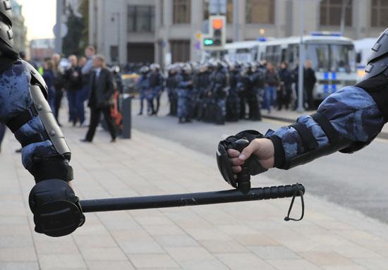 انتشار كثيف لقوات الأمن