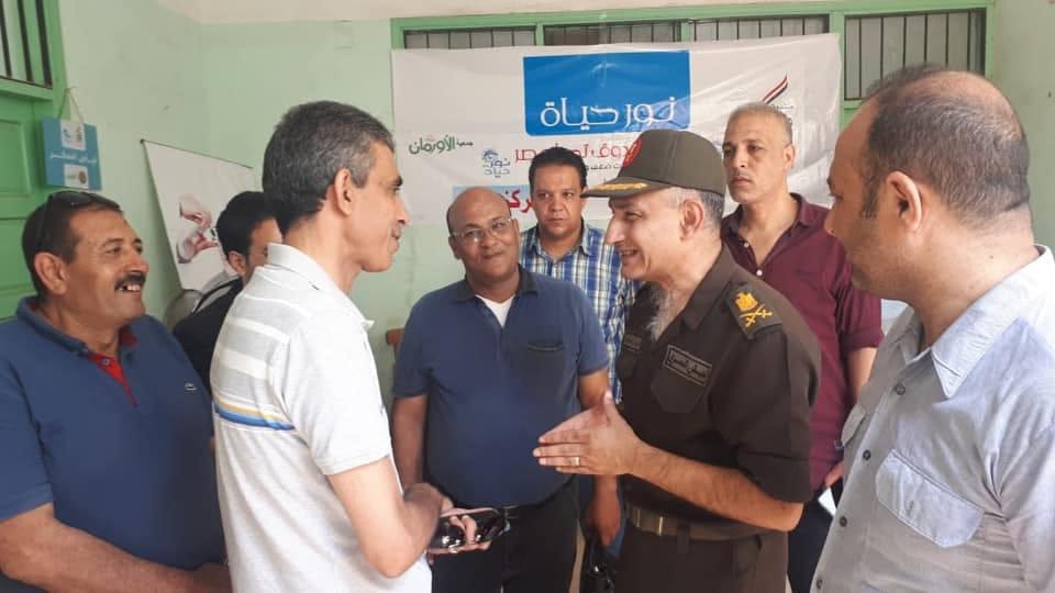 محافظات مصر تدعم الفقراء والأسر الإكثر إحتياجاً قبل العيد ضمن مبادرة حياة كريمة (8)