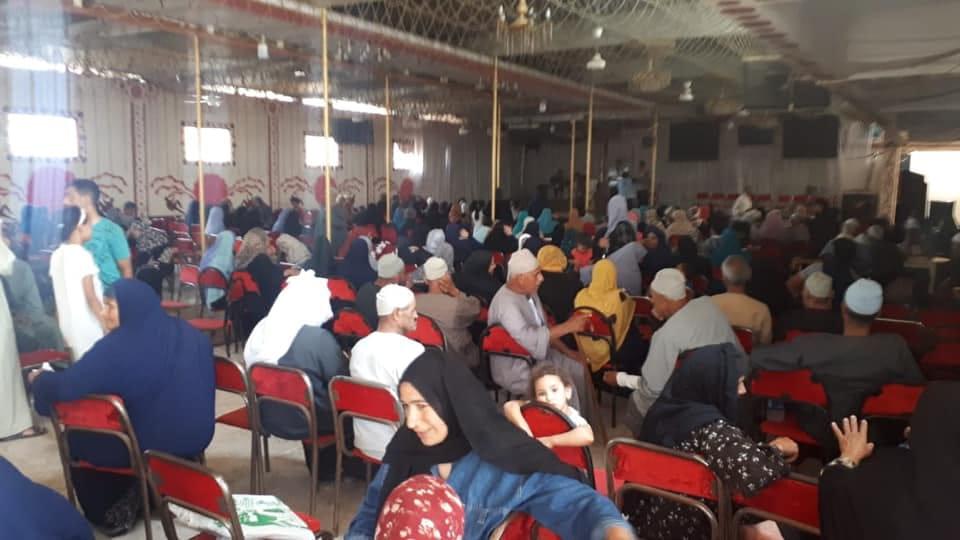 محافظات مصر تدعم الفقراء والأسر الإكثر إحتياجاً قبل العيد ضمن مبادرة حياة كريمة (2)
