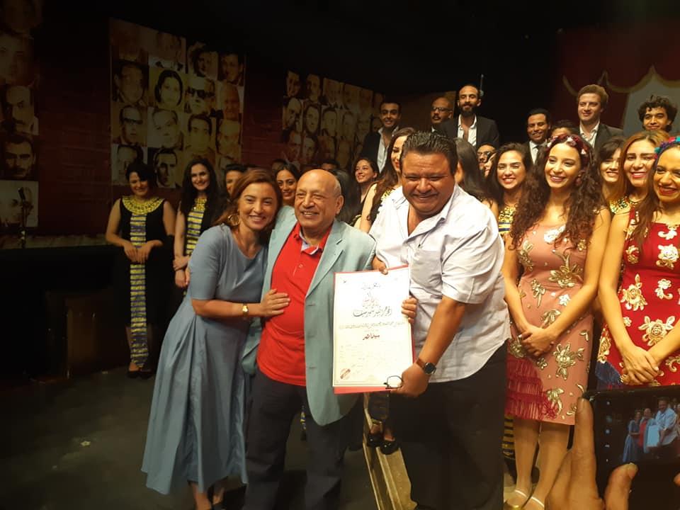 تكريم المخرج الكبير سمير سيف في عرض سينما مصر