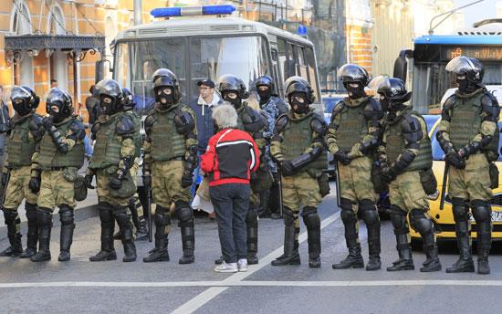انتشار قوات الأمن