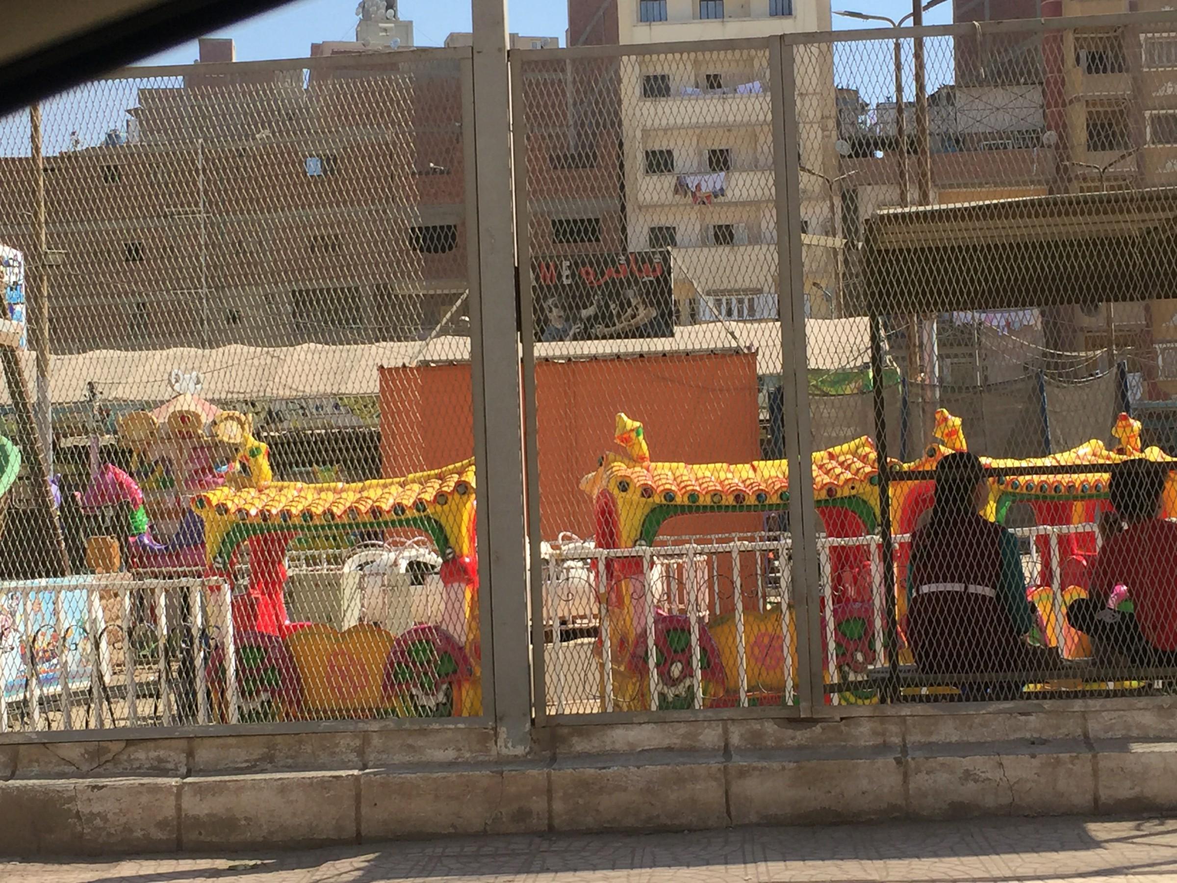 إقبال كبير على الحدائق والمتنزهات فى أول أيام عيد الأضحى بالغربية (5)
