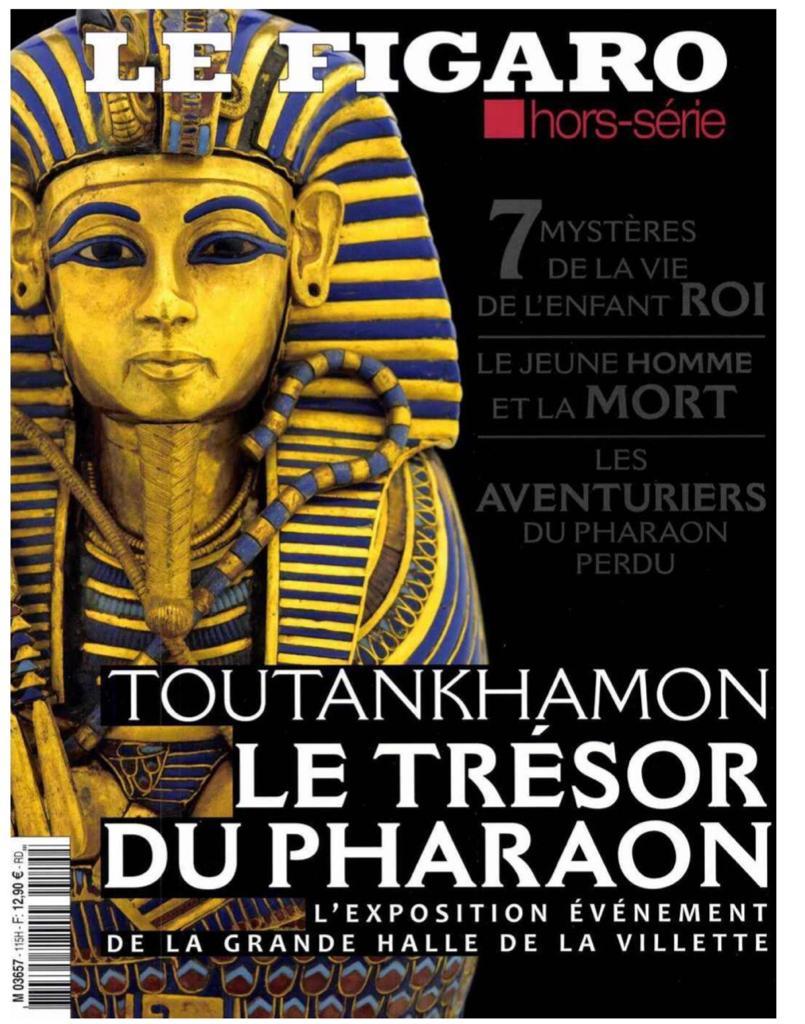 توت عنخ آمون على أغلقة الصحف الفرنسية (1)