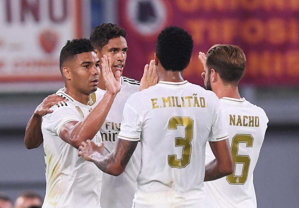روما ضد ريال مدريد  (9)