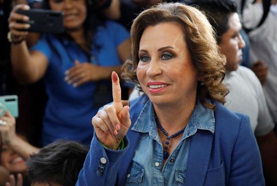 المرشحة  ساندرا توريس