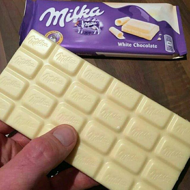 شوكولاتة بيضاء