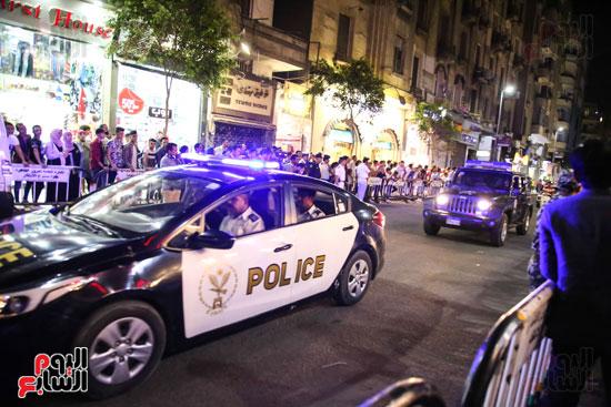 الشرطة-تقوم-بتأمين-وسط-البلد