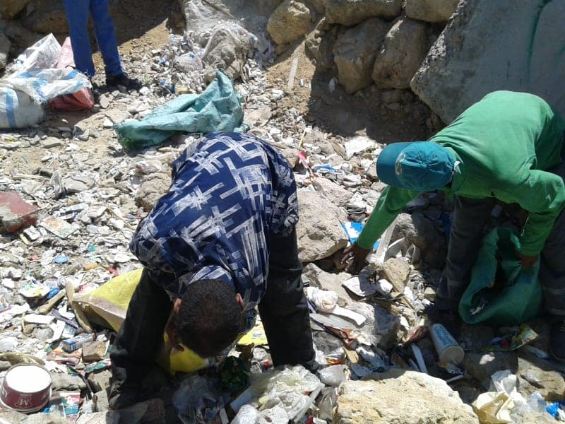 تطهير الشواطئ وسط الاسكندرية (1)