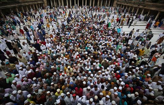 صلاة-العيد-فى-الهند
