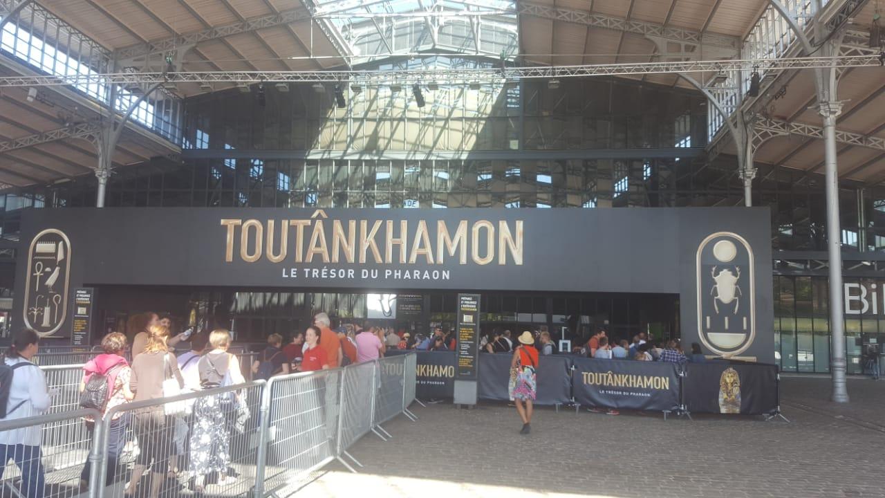 معرض توت عنخ آمون فى فرنسا (2)