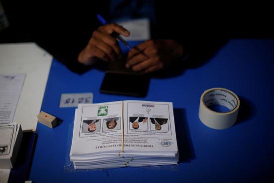 أوراق أقتراع فى جواتيمالا