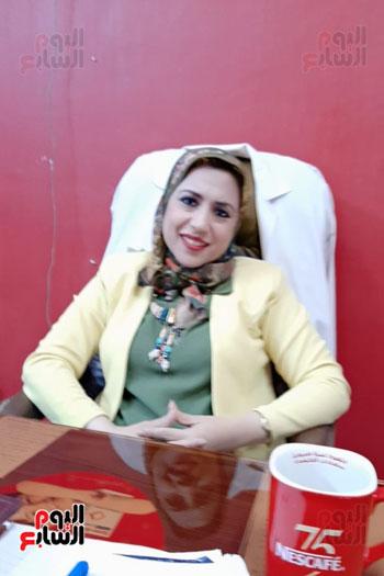 أول مركز للكشف المبكر عن الامراض المزمنة بالقلب للأطفال بمستشفى حميات بنى سويف (7)