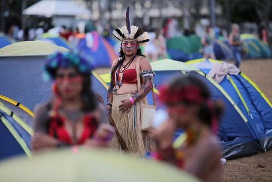 مظاهرات السكان الأصليين