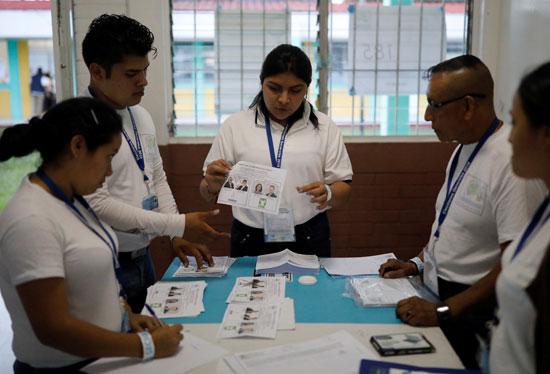 فرز الأصوات فى جواتيمالا