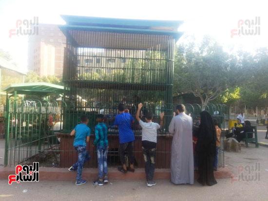 حديقة حيوان الزقازيق (2)