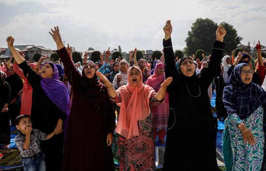 النساء-تشارك-فى-المظاهرات