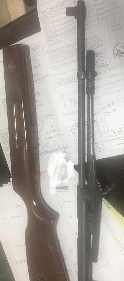 جمارك مطار سوهاج تضبط بندقية مفككة (2)