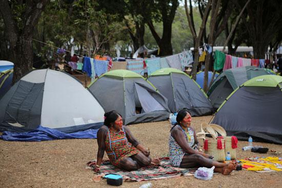 تجمع للسكان الأصليون