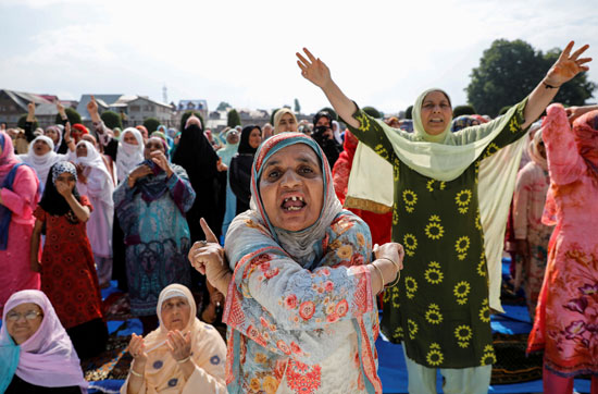 مظاهرات-بعد-صلاة-العيد