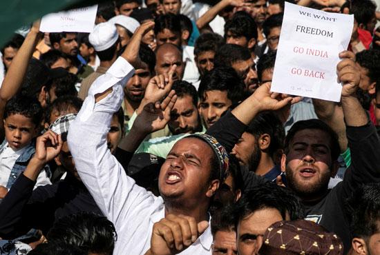 مظاهرات-تطالب-بالحرية