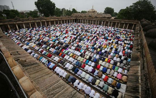 صلاة-عيد-الأضحى-فى-الهند