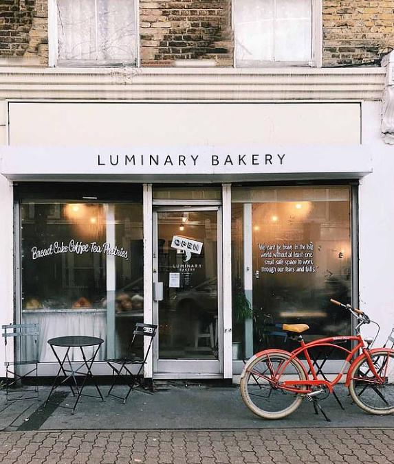 صورة للمخبز