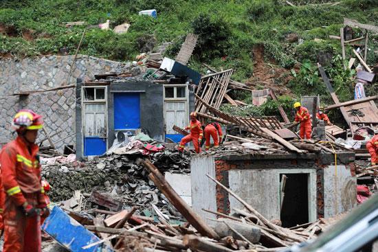 أثار-إعصار-الصين