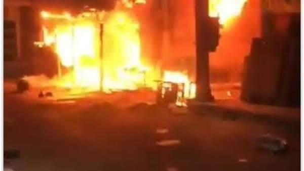 حريق شارع مصر بالإسماعيلية (6)