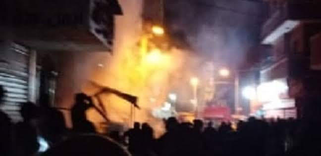 حريق شارع مصر بالإسماعيلية (11)