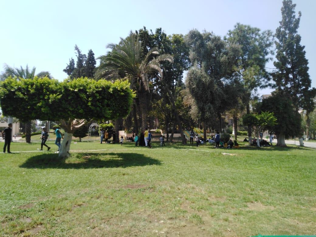 الحديقة الدولية تستقبل 18 ألف زائر فى ثان أيام عيد الأضحى (5)