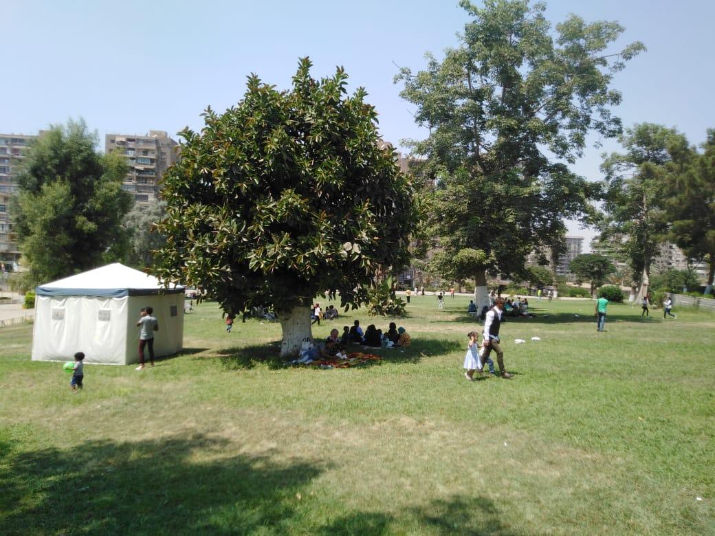 الحديقة الدولية تستقبل 18 ألف زائر فى ثان أيام عيد الأضحى (1)