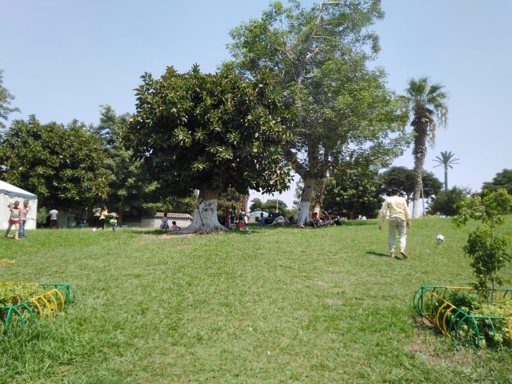 الحديقة الدولية تستقبل 18 ألف زائر فى ثان أيام عيد الأضحى (6)