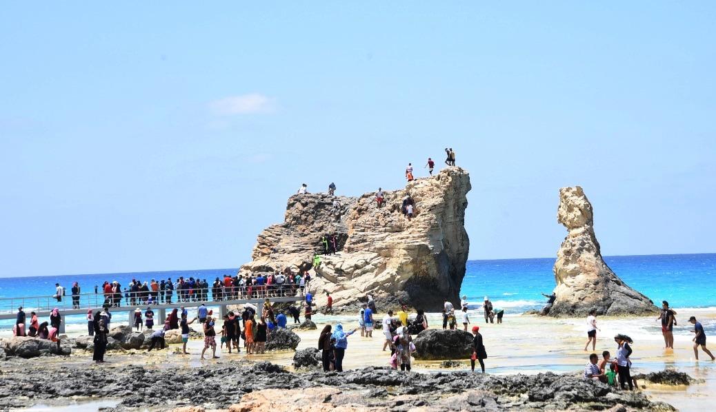 العيد شكل تاني  على شواطئ مطروح والساحل الشمالي (8)