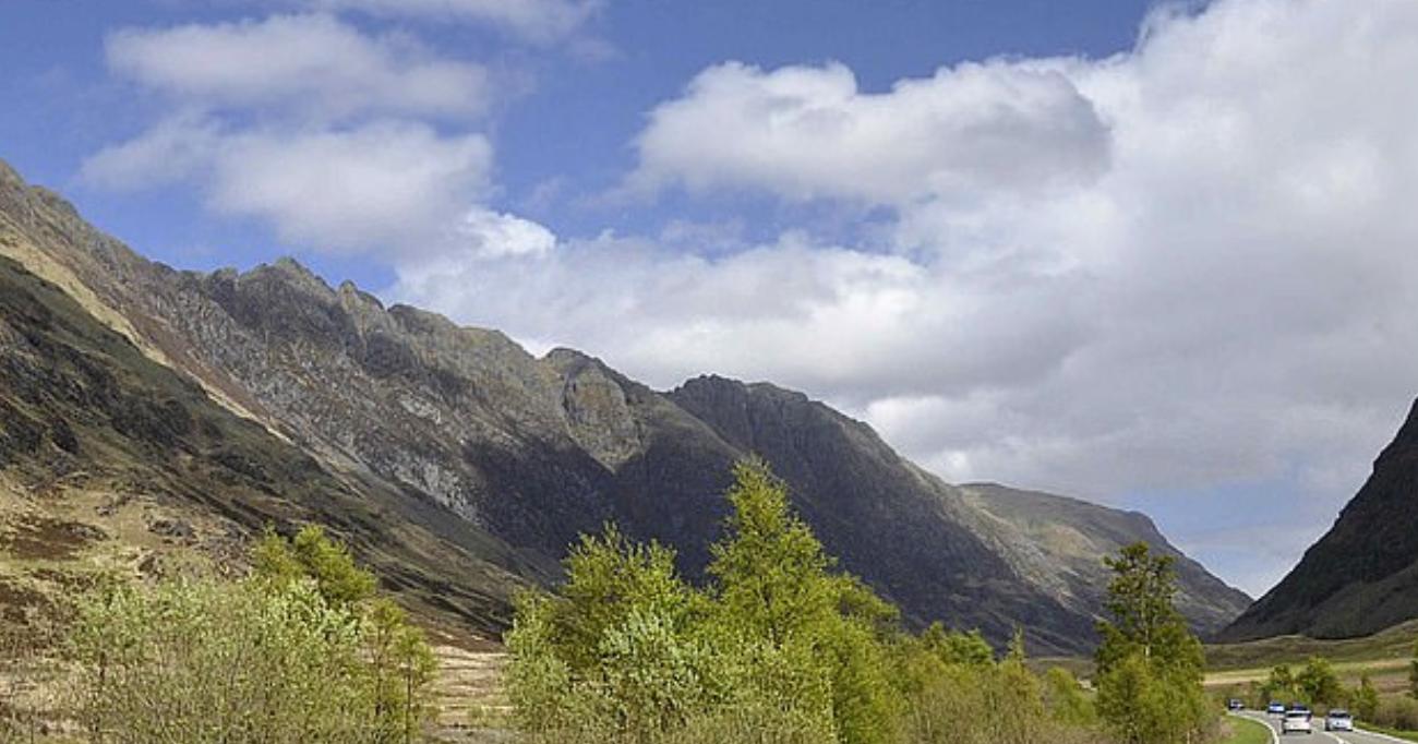 التلال الجبلية الخطيرة
