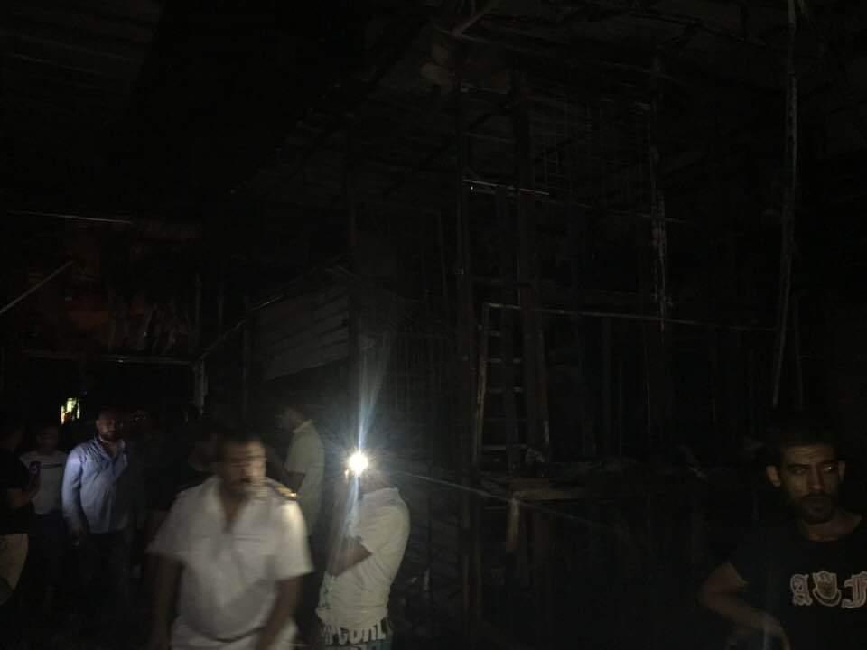 حريق شارع مصر بالإسماعيلية (7)