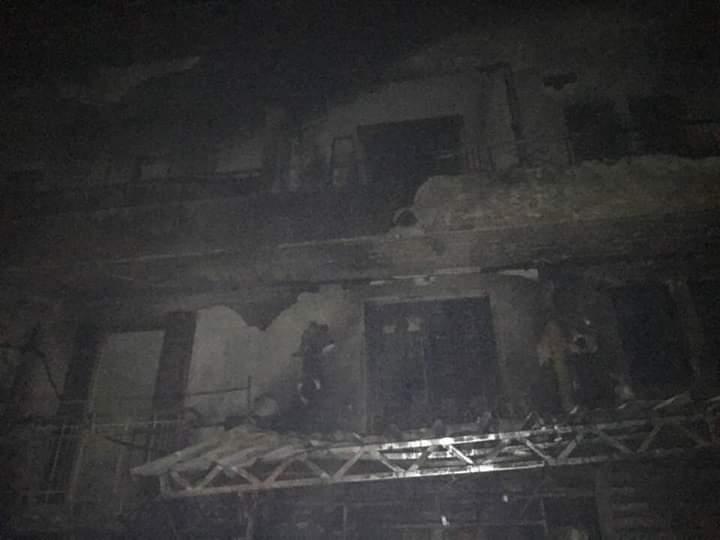حريق شارع مصر بالإسماعيلية (4)