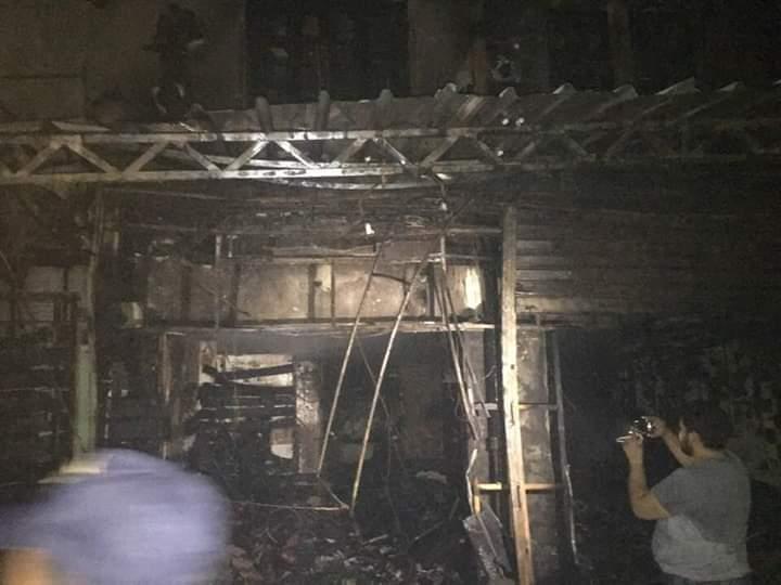 حريق شارع مصر بالإسماعيلية (5)