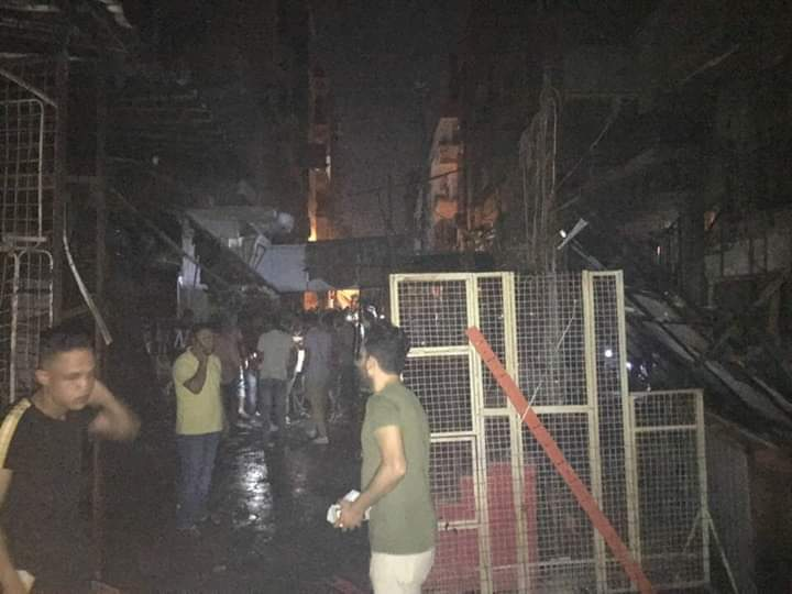 حريق شارع مصر بالإسماعيلية (9)