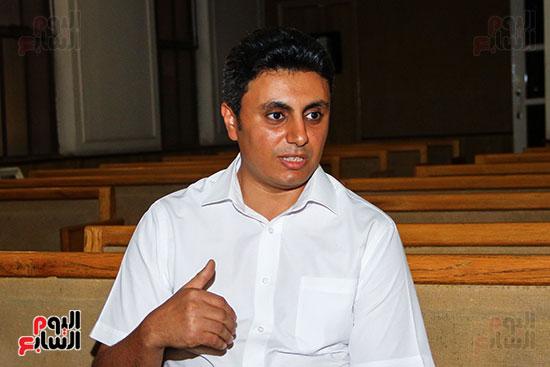 القس جونى نصر الله، راعى الكنيسة ،السكرتير التنفيذي للطائفة بمصر (6)