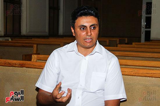 القس جونى نصر الله، راعى الكنيسة ،السكرتير التنفيذي للطائفة بمصر (3)