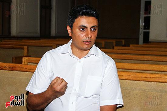 القس جونى نصر الله، راعى الكنيسة ،السكرتير التنفيذي للطائفة بمصر (2)