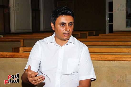 القس جونى نصر الله، راعى الكنيسة ،السكرتير التنفيذي للطائفة بمصر (5)