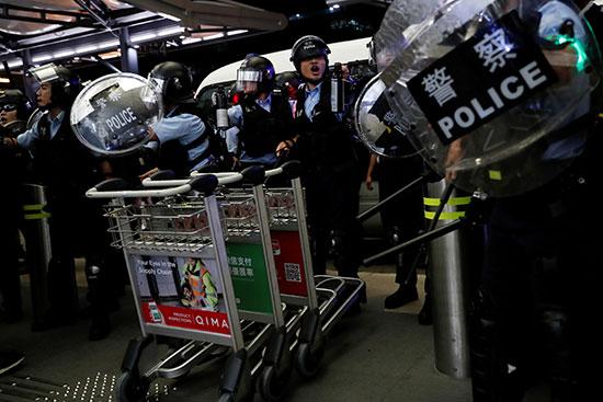 الشرطة فى هونج كونج