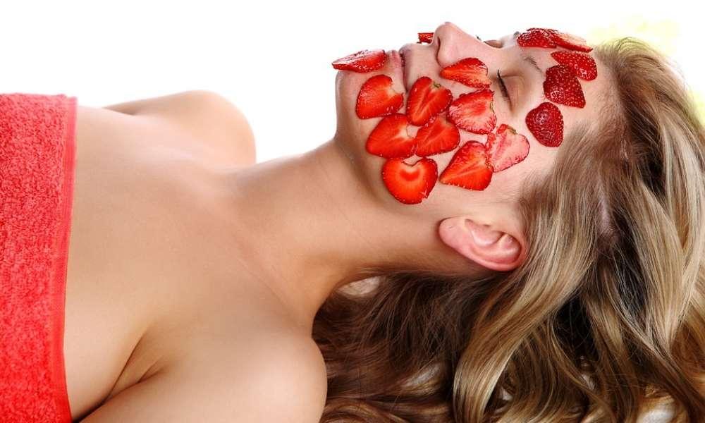 ماسك الفراولة-