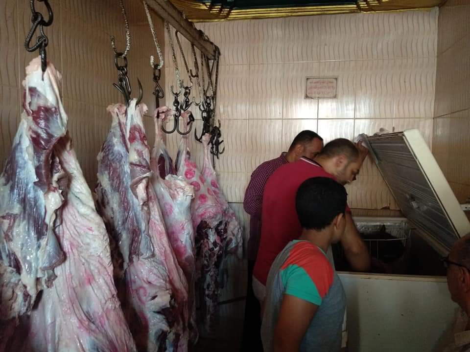 متابعة محلات الجزارة