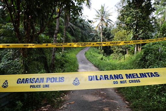 المنطقة التى عثر فيها على جثة الفتاة