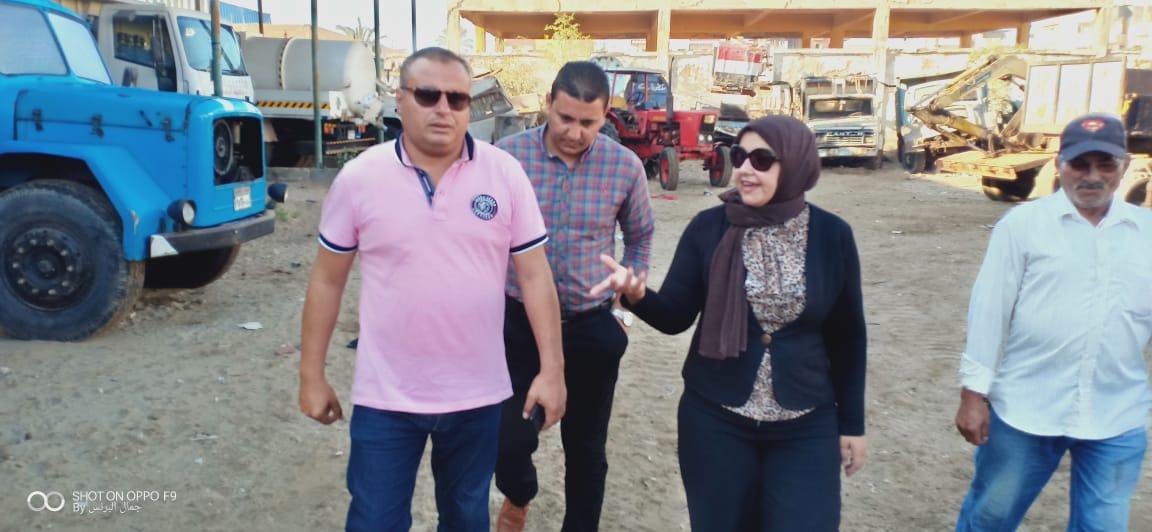 رئيس المدينة أثناء الحملة التفتيشية (1)